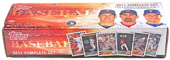 2011 Topps Factory Set Baseball Hobby (Box)