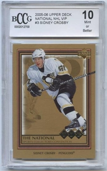 2005/06 Upper Deck VIP Cleveland National Sidney Crosby BCCG 10