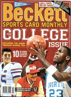 2012 Beckett Sports Card Monthly Price Guide (#331 October) (College Edition)