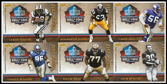 2012 Panini Hall of Fame Football Exclusive 6-Card Set (National Sports Convention)