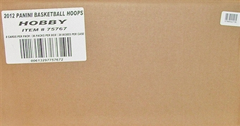 2011/12 Panini NBA Hoops Basketball Hobby 20-Box Case