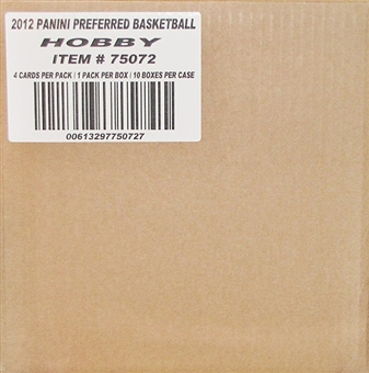 2011/12 Panini Preferred Basketball Hobby 10-Box Case