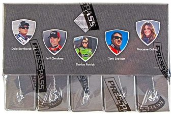 2012 Press Pass Total Memorabilia Racing Hobby Box