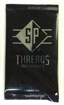 2012 Upper Deck SP Threads Football Hobby Pack