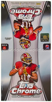 2012 Topps Chrome Football Value Pack Box (18 Packs)