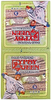 2012 Topps Gypsy Queen Baseball Jumbo Rack Box (18 Packs)
