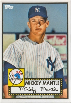 2012 Topps Heritage Baseball  #408 Micky Mantle Yankee (Baltimore National Convention)