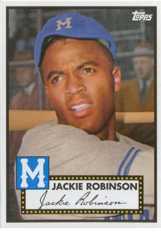 2012 Topps Heritage Baseball  #411 Jackie Robinson (Baltimore National Convention)
