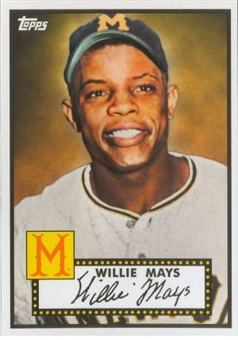 2012 Topps Heritage Baseball  #410 Willie Mays (Baltimore National Convention)