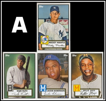 2012 Topps Heritage Baseball Baltimore National Convention 4-Card Pack (A)(Yankees)