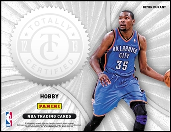 2012/13 Panini Totally Certified Basketball Hobby Pack