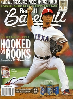 2013 Beckett Baseball Monthly Price Guide (#86 May) (Yu Darvish)