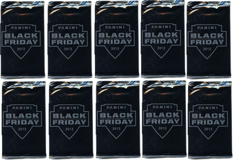 2013 Panini Black Friday Promotion Pack (Lot of 10)