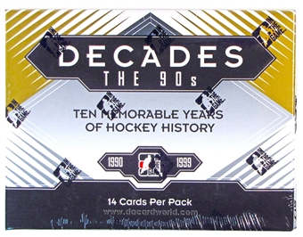 2013-14 In The Game Decades - The 90's Hockey Hobby Box