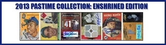 2013 Pastime Enshrined Edition Baseball Hobby 10-Box Case