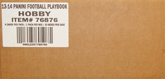 2013 Panini Playbook Football Hobby 10-Box Case