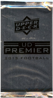 2013 Upper Deck Premier Football Hobby Pack