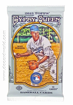 2013 Topps Gypsy Queen Baseball Hobby Pack