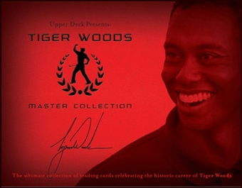 2013 Upper Deck Tiger Woods Master Collection Golf Hobby Box (Set)