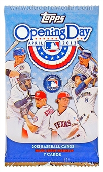2013 Topps Opening Day Baseball Hobby Pack
