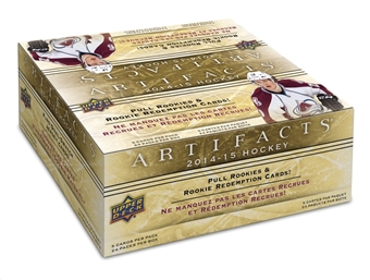 2014/15 Upper Deck Artifacts Hockey 24-Pack Box