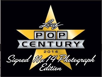 2014 Leaf Pop Century Signed 11x14 Photograph Edition Hobby Pack (Box)