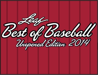 2014 Leaf Best Of Baseball Unopened Edition Hobby Box (Presell)