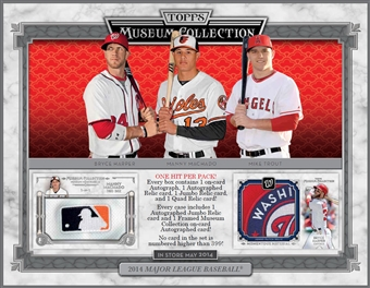 2014 Topps Museum Collection Baseball Hobby Box (Presell)