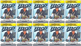 2014/15 Upper Deck MVP Hockey 12-Pack Box (Lot of 10)