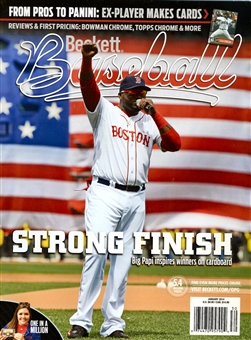 2014 Beckett Baseball Monthly Price Guide (#94 January) (Ortiz)