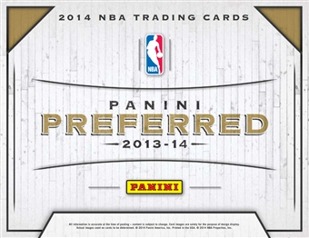 2013/14 Panini Preferred Basketball Hobby Box (Presell)