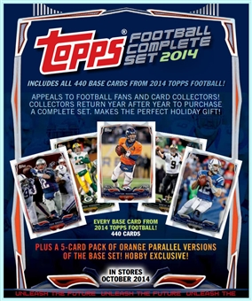 2014 Topps Hobby Factory Set Football (Box) (Presell)