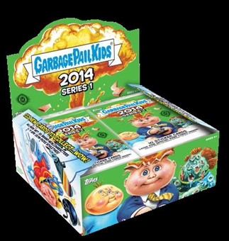 Garbage Pail Kids Series 1 Hobby 8-Box Case (Topps 2014) (Presell)