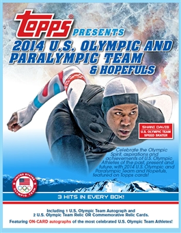 2014 Topps U.S. Olympic and Paralympic & Hopefuls Hobby Pack