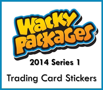 Wacky Packages Series 1 Collector's Edition Hobby 6-Box Case (Topps 2014) (Presell)