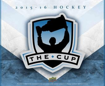2015/16 Upper Deck The Cup Hockey Hobby 6-Box Case (Presell)