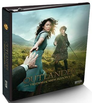 Outlander Season One Trading Cards Binder (Cryptozoic 2016) (Presell)
