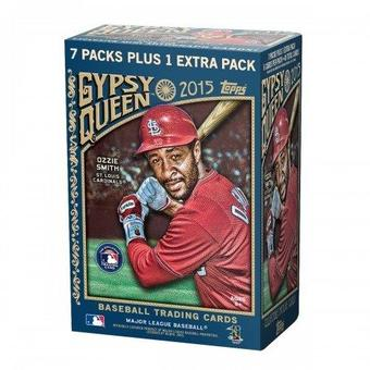 2015 Topps Gypsy Queen Baseball 8-Pack Box (Lot of 5)