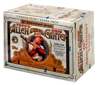 2015 Topps Allen & Ginter Baseball 8-Pack Box (Lot of 5)