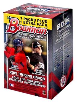 2015 Bowman Baseball 8-Pack Box (Lot of 5)