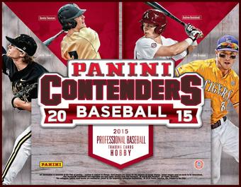 2015 Panini Contenders Baseball Hobby 12-Box Case - DACW Live 30 Spot Random Team Break #1