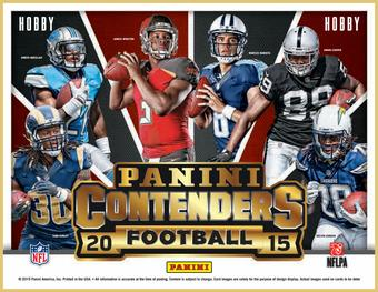 2015 Panini Contenders Football Hobby 12-Box Case- DACW Live 32 Team Random Break #1
