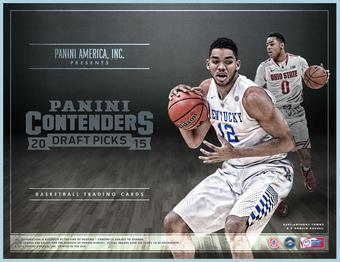 2015 Panini Contenders Draft Picks Basketball Hobby Box (Presell)