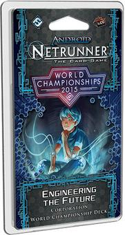 Android Netrunner LCG: 2015 Netrunner World Champion Corp Deck (FFG)