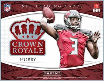 2015 Panini Crown Royale Football Hobby Box (Presell)