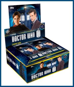 Doctor Who Trading Cards 12-Box Case (Topps 2015) (Presell)
