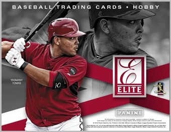 2015 Panini Elite Baseball Hobby Case - DACW Live 30 Spot Random Team Break #1