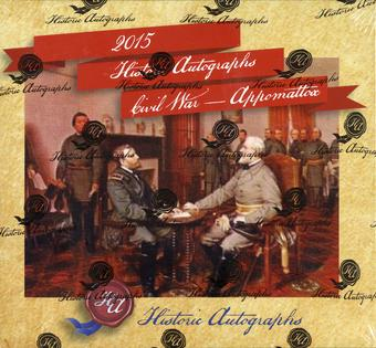 2015 Historic Autographs Civil War - Appomattox Box (Set)