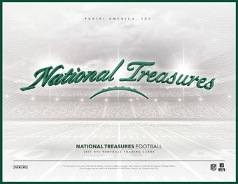 2015 Panini National Treasures Football Hobby 4-Box Case (Presell)