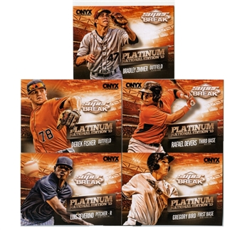 2015 Onyx Platinum National Edition Baseball 5 Card Set (Lot of 10)